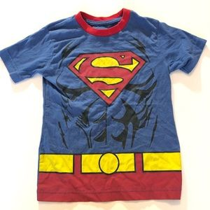 FREE WITH ITEM OVER $12! XS Boy Superman Tee Top